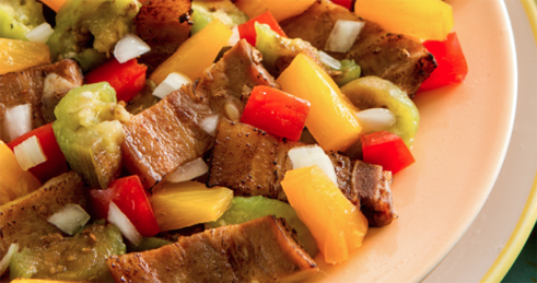 Pack This Grilled Pork And Vegetable Dish For Your Childs Lunch Pina Level It Up With Pineapples Is A Good Source Of Vitamin C Which Helps