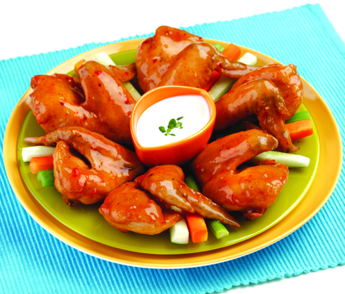 del monte kitchenomics fast delectable meals for people on the go breaded chili wings