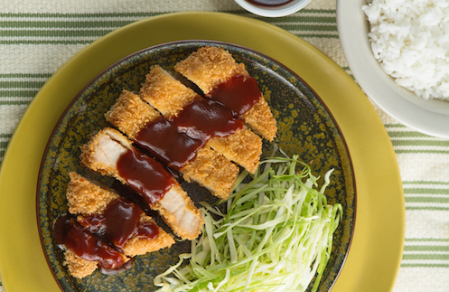 del monte kitchenomics fast delectable meals for people on the go pork tonkatsu