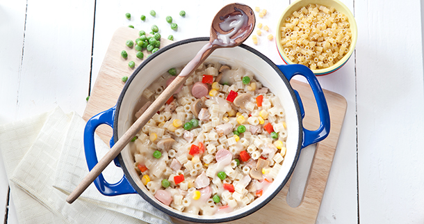 Healthy one pot recipes to try at home lifegetsbetter del this pasta dish can be prepared in minimal time and with minimal effort pastels are traditional latin american dishes and this chicken pastel is an forumfinder Gallery