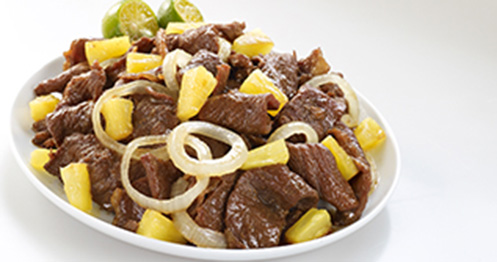 how to cook adobong baboy with pineapple chunks